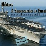 Military - A Supercarrier is Burning