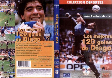 The 120 Best Goals Of Diego Maradona
