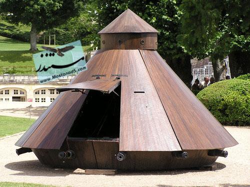 Da Vinci Tank At Amboise
